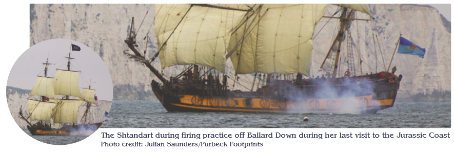 Living Naval History to visit Dorset