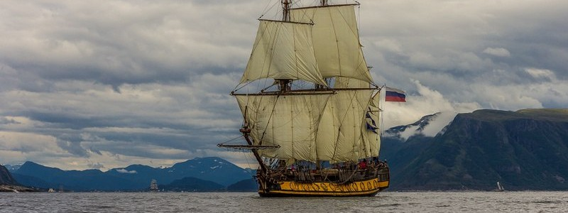 Get your own Tallship experience! Win a week on a historical tall ship.