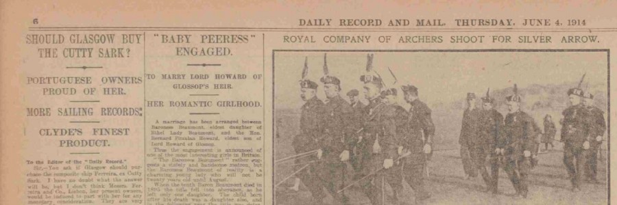 Daily Record and Mail, Thursday, June 4, 1914
